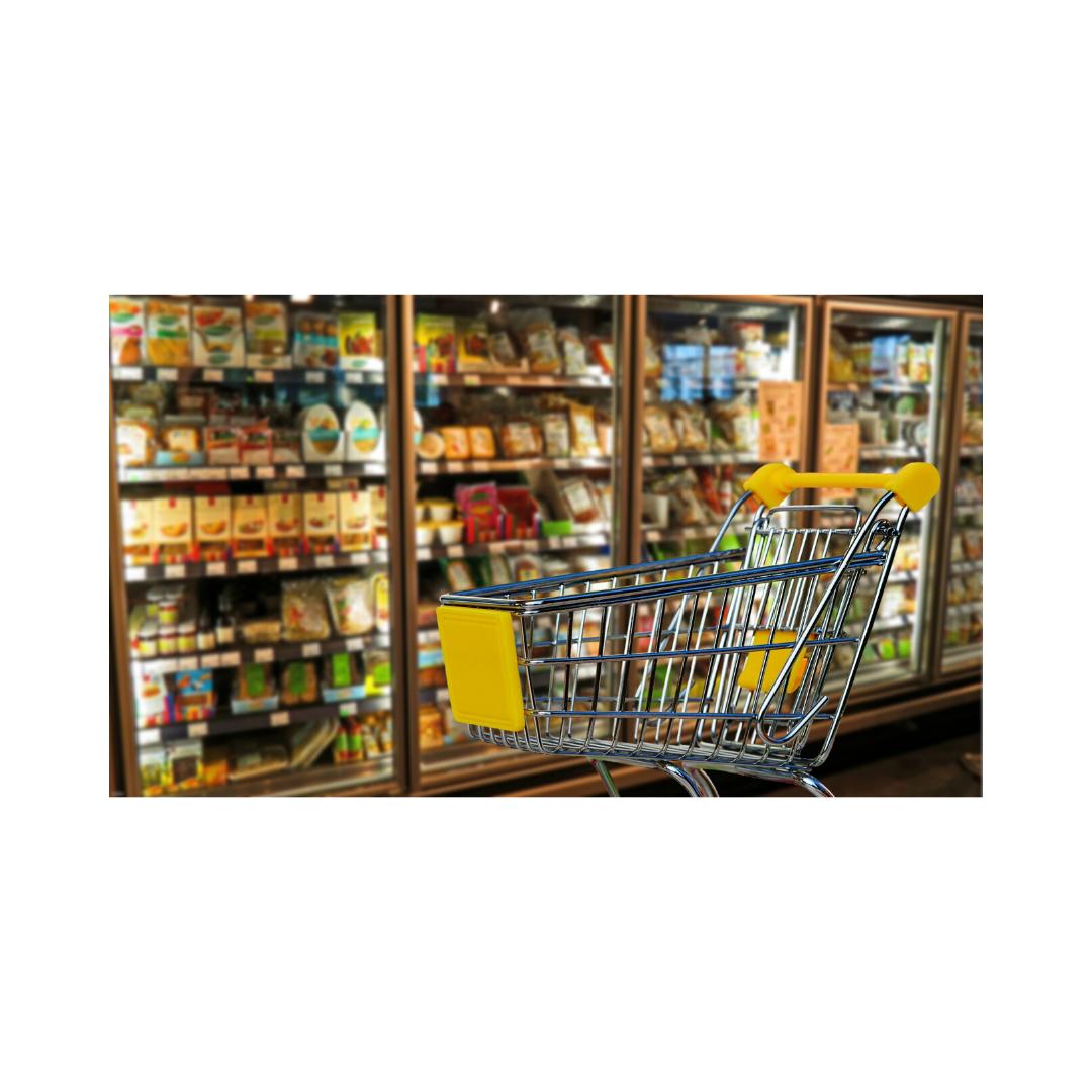 スーパー食品売り場